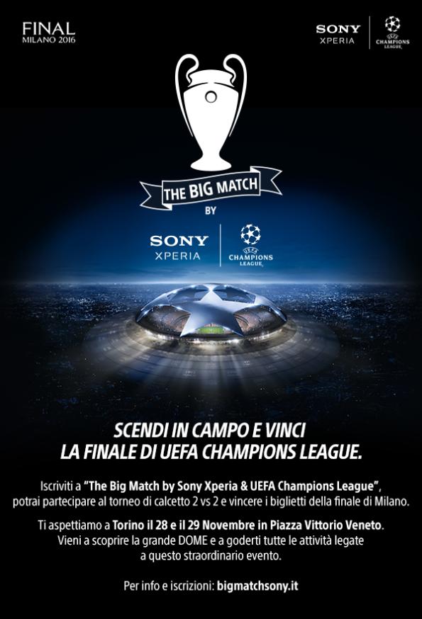 Big Match Sony - Torino